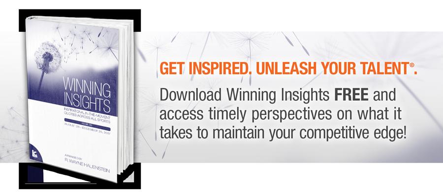 Winning Insights ebook