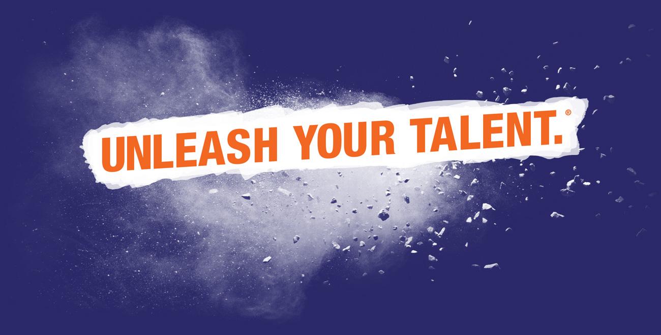 Unleash Your Talent.®